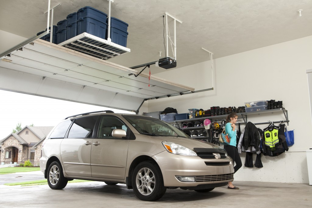 Garage Overhead Storage Ideas